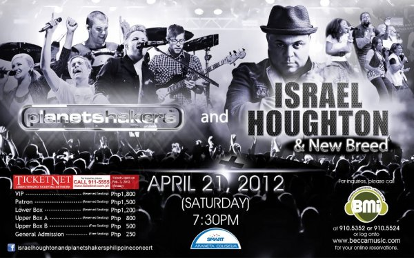 Israel & New Breed | Planetshakers live in Manila!